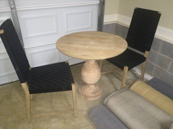 West Elm Table And Chairs     $160     View on Craigslist