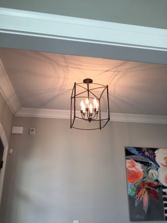 Ballard Designs Chandelier $50 This light retailed for $199 at Ballard. View on Craigslist