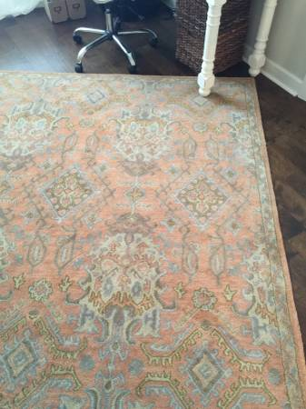 7' x 7' Wool Rug $200 View on Craigslist