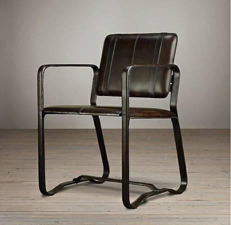 Restoration Hardware Buckle Chair     $695   This chair retails for $895.    View on Craigslist