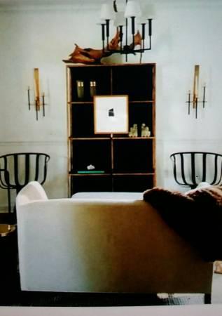 Ikea Vittsjo Shelf $50 I love how this seller has transformed their Ikea vittsjo shelf. View on Craigslist