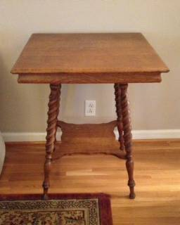 Antique Side Table     $75     View on Craigslist