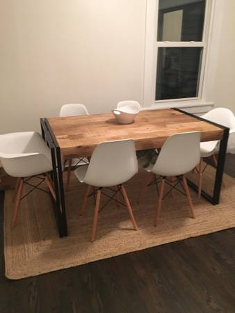 Set of 4 Eames Style Chairs     $200     View on Craigslist