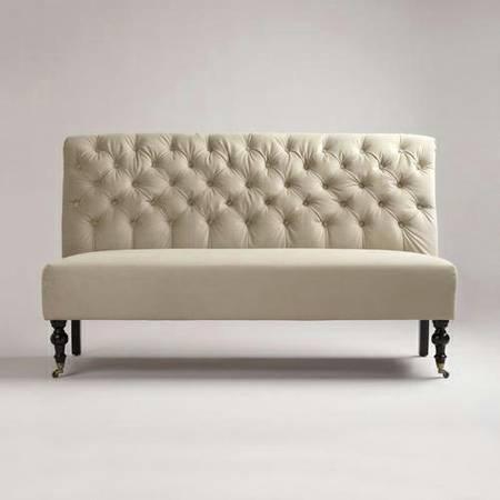 Velvet Banquette Bench     $200     View on Craigslist