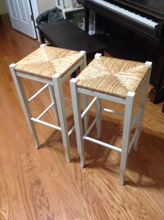 Pair of Pottery Barn Stools $35 View on Craigslist