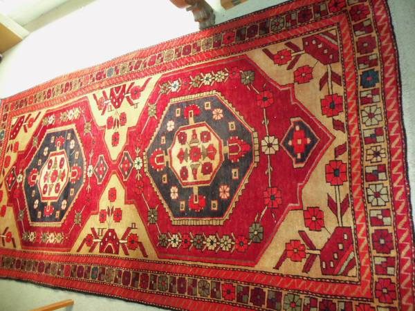 Persian Rug $300 View on Craigslist