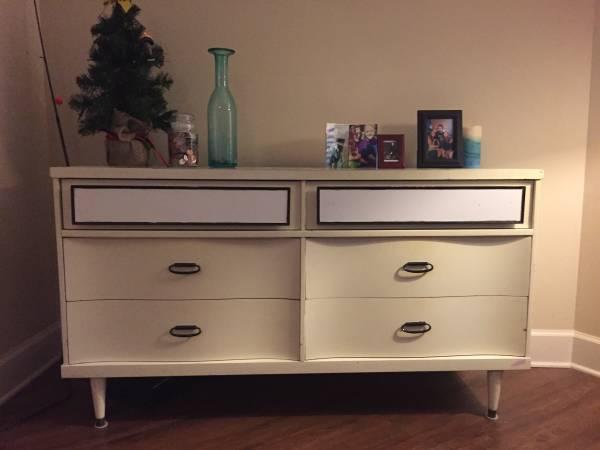 Mid Century Bassett Dresser $150 View on Craigslist