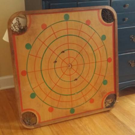 Vintage Game Board $40 This would be a fun piece to hang on the wall. View on Craigslist