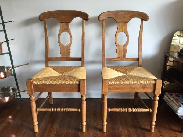 Pair of Antique Chairs $60 View on Craigslist