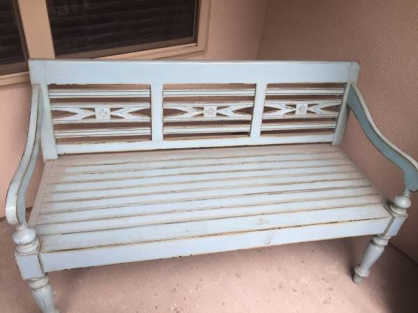 Painted Bench     $125     View on Craigslist