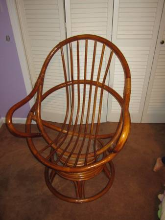 Bamboo Egg Chair     $40     View on Craigslist