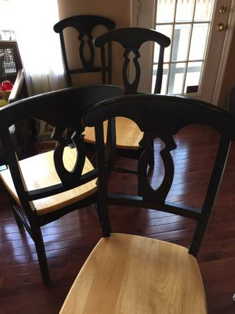 Set of 4 Chairs     $80     View on Craigslist