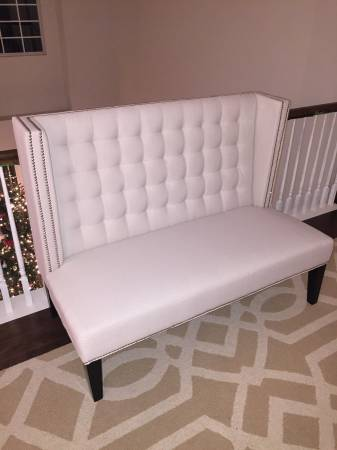High Back Settee     $250     View on Craigslist
