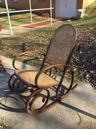 Bentwood Rocker     $60     View on Craigslist
