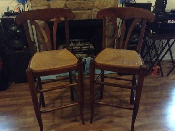 Pair of Stools     $50   These stools are counter height.    View on Craigslist