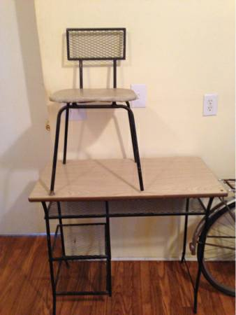 Vintage Desk and Chair     $50     View on Craigslist