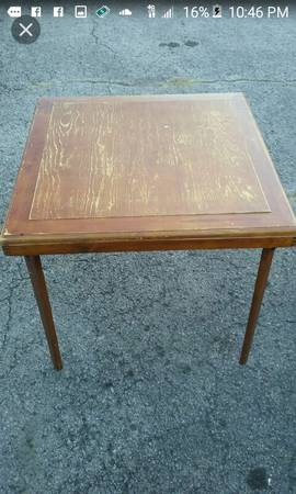 Wood Folding Table $30 View on Craigslist