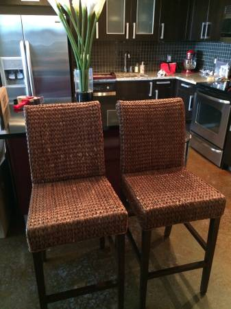 Pair of Bar Stools $50 View on Craigslist