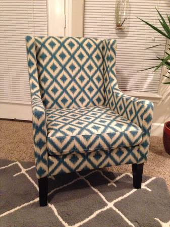 Ikat Accent Chair     $155     View on Craigslist