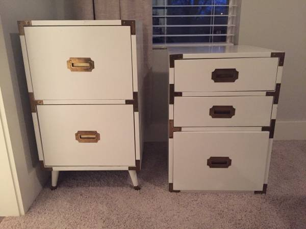 Campaign Side Tables     $250     View on Craigslist