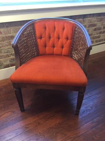 Vintage Cane Back Chair     $50     View on Craigslist