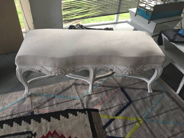 Bench $40 View on Craigslist