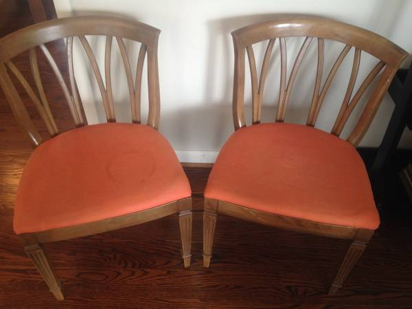 Pair of Chairs $50 View on Craigslist