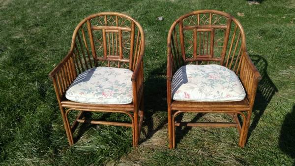 Pair of Bamboo Chairs     $125     View on Craigslist