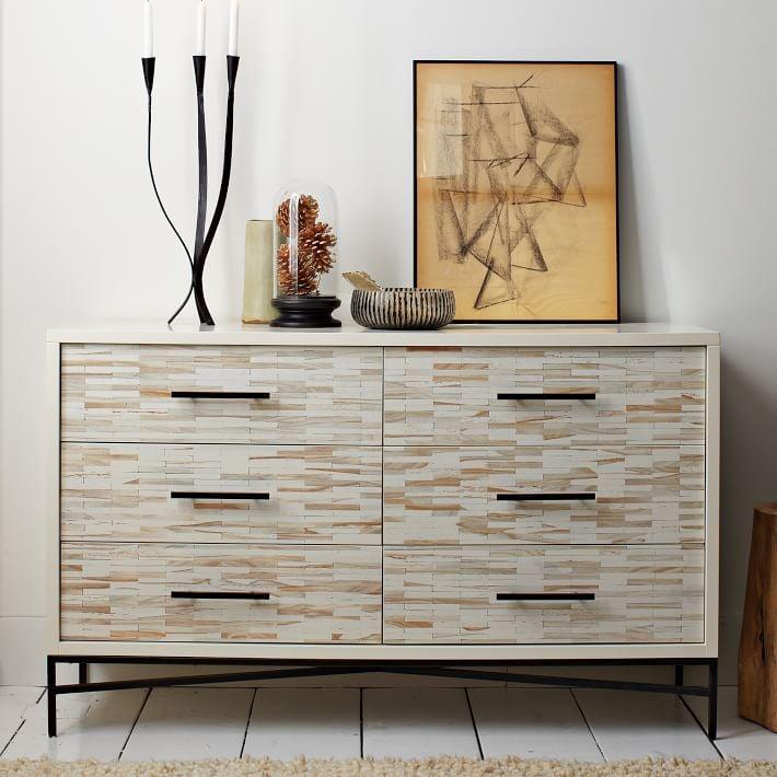 West Elm Wood Tiled Dresser     $775   This dresser currently retails for $1,199.    View on Craigslist