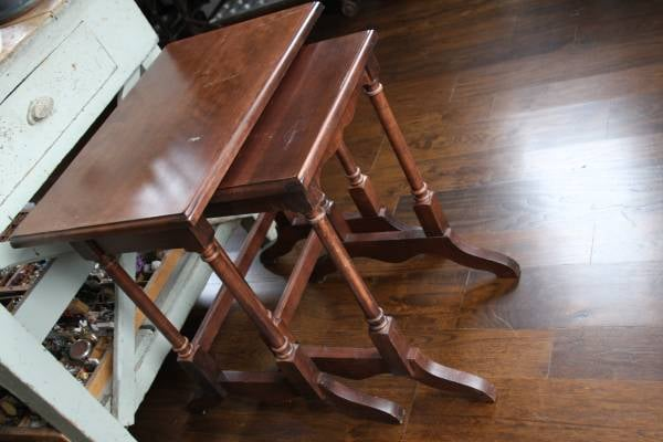 Pair of Nesting Tables     $80     View on Craigslist
