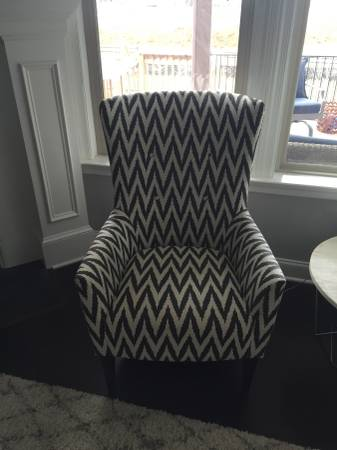 West Elm Armchairs (2)     $300 each     View on Craigslist