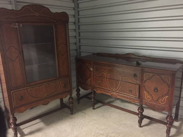 China Cabinet and Buffet     $350     View on Craigslist