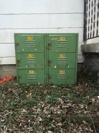 Vintage Lockers $75 View on Craigslist