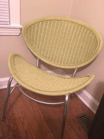 Modern Wicker Chair     $30     View on Craigslist