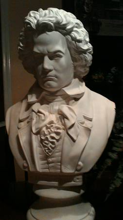 Beethoven Bust $40 View on Craigslist