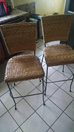 Pair of Pottery Barn Stools $60 View on Craigslist