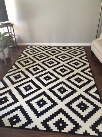 IKEA 6' x 9' Rug $150 View on Craigslist
