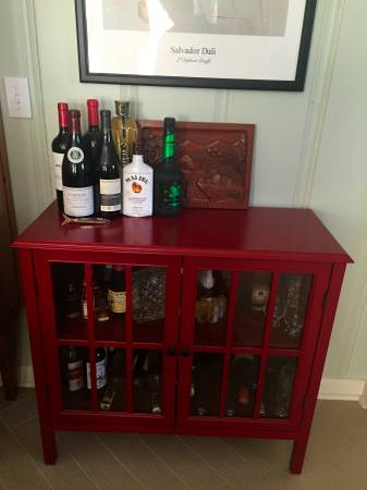 Red Cabinet     $100     View on Craigslist