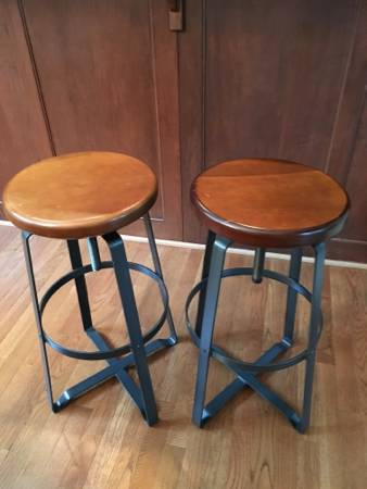 Pair of West Elm Stools     $125     View on Craigslist
