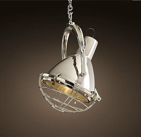 Restoration Hardware Pendant     $700   This pendant retails for $1400.    View on Craigslist