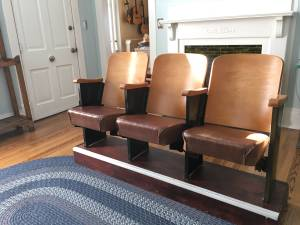 Set of Three Theater Seats     $100     View on Craigslist