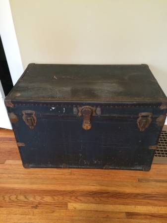 Vintage Black Chest $80 View on Craigslist