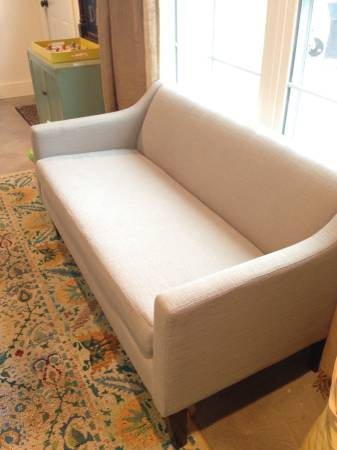 West Elm Sutton Sofette     $300     View on Craigslist