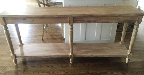 World Market Sofa/Foyer Table     $250     View on Craigslist