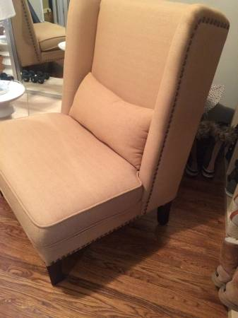 Pair of High Back Chairs     $300     View on Craigslist