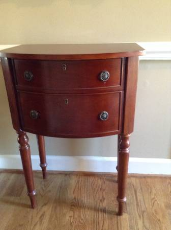 Cherry Side Table     $50     View on Craigslist