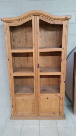 Pine Bookcase $100 View on Craigslist