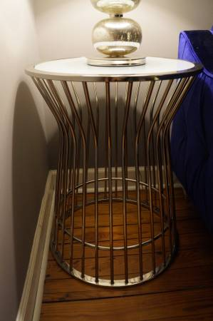 West Elm Side Table $80 View on Craigslist