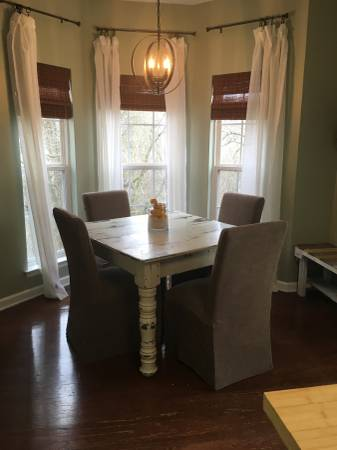 Set of 4 Parsons Chairs $100 View on Craigslist