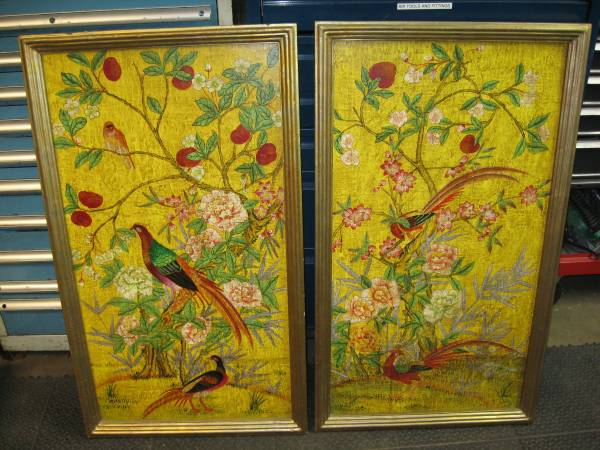 Pair of Asian Art     $70     View on Craigslist